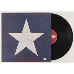 "Neil Young Signed ""Hawks  Doves"" Vinyl Record Album Cover (PSA COA)"