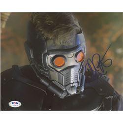 "Chris Pratt Signed ""Guardians of the Galaxy"" 8x10 Photo (PSA COA)"