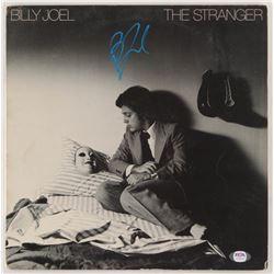 """Billy Joel Signed """"The Stranger"""" Vinyl Record Album Cover (PSA COA)"""