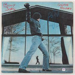 """Billy Joel Signed """"Glass Houses"""" Vinyl Record Album Cover (PSA COA)"""
