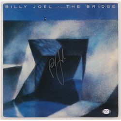 "Billy Joel Signed ""The Bridge"" Vinyl Record Album Cover (PSA COA)"