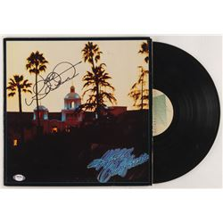 "Joe Walsh Signed The Eagles ""Hotel California"" Vinyl Record Album Cover (PSA COA)"