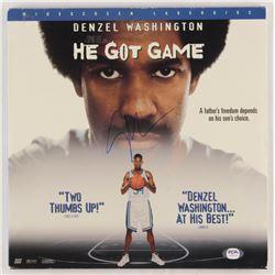 "Spike Lee Signed ""He Got Game"" Vinyl Record Album Cover (PSA COA)"