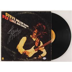 """Steve Miller Signed Steve Miller Band """"Fly Like an Eagle"""" Vinyl Record Album Cover (PSA COA)"""