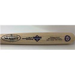 Juan Soto Signed 2019 Washington Nationals World Series Louisville Slugger Baseball Bat (Fanatics Ho
