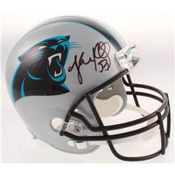 Luke Kuechly Signed Carolina Panthers Full-Size Helmet (Beckett COA)