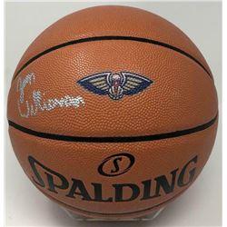 Zion Williamson Signed New Orleans Pelicans Logo Basketball (Fanatics Hologram)