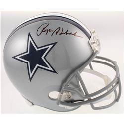 Roger Staubach Signed Dallas Cowboys Full-Size Helmet (Beckett COA)