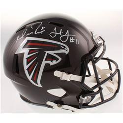 Matt Ryan  Julio Jones Signed Atlanta Falcons Full-Size Speed Helmet (JSA COA  Fanatics Hologram)