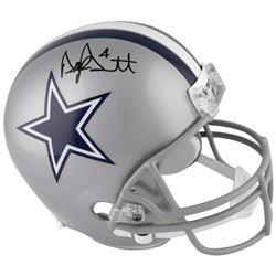Dak Prescott Signed Dallas Cowboys Full-Size Helmet (Fanatics Hologram)