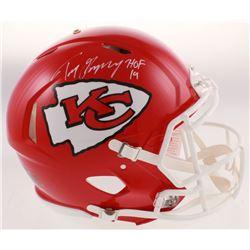 "Tony Gonzalez Signed Kansas City Chiefs Full-Size Authentic On-Field Speed Helmet Inscribed ""HOF 19"""