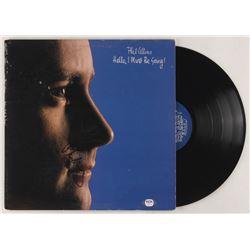 "Phil Collins Signed ""Hello, I Must Be Going!"" Vinyl Record Album Cover (PSA COA)"