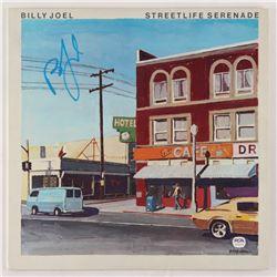 "Billy Joel Signed ""Streetlife Serenade"" Vinyl Record Album Cover (PSA COA)"