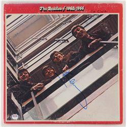 "Paul McCartney Signed The Beatles ""1962–1966"" Vinyl Record Album Cover (PSA LOA)"
