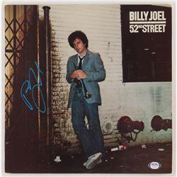 "Billy Joel Signed ""52nd Street"" Vinyl Record Album Cover (PSA COA)"