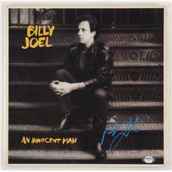 "Billy Joel Signed ""An Innocent Man"" Vinyl Record Album Cover (PSA COA)"