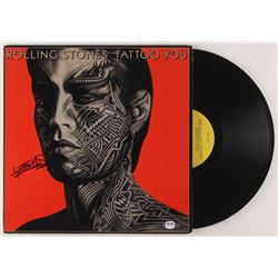 """Keith Richards Signed The Rolling Stones """"Tattoo You"""" Vinyl Record Album Cover (PSA LOA)"""