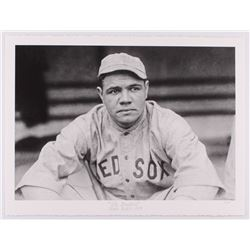 "Historical Photo Archive - Babe Ruth ""The Bambino"" Limited Edition 16.5x22 Fine Art Giclee on Paper"
