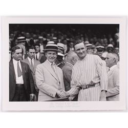 "Historical Photo Archive - Walter Johnson  Calvin Coolidge ""The President  The Senator"" Limited Edit"