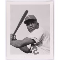 "Historical Photo Archive - ""Jackie Robinson"" Limited Edition 16.5x22 Fine Art Giclee on Paper #/375"