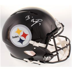 Ben Roethlisberger Signed Pittsburgh Steelers Full-Size Authentic On-Field Speed Helmet (Beckett COA