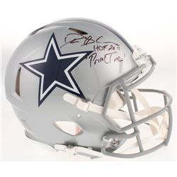 "Deion Sanders Signed Dallas Cowboys Full-Size Authentic On-Field Speed Helmet Inscribed ""HOF 2011"""