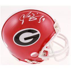 Champ Bailey Signed Georgia Bulldogs Mini-Helmet (JSA COA)