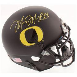 Marcus Mariota Signed Oregon Ducks Mini-Helmet (Mariota Hologram)