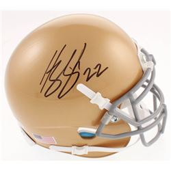 Harrison Smith Signed Notre Dame Fighting Irish Mini-Helmet (Beckett COA)