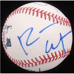 """""""The Office"""" Cast-Signed OML Baseball Signed By (6) With Rainn Wilson, Angela Kinsey (PSA Hologram)"""