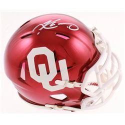 Kyler Murray Signed Oklahoma Sooners Chrome Speed Mini-Helmet (Beckett COA)