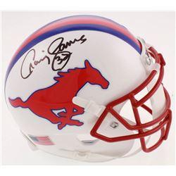 Craig James Signed SMU Mustangs Mini-Helmet (JSA COA)