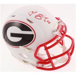 Champ Bailey Signed Georgia Bulldogs AMP Alternate Speed Mini-Helmet (JSA COA)