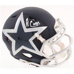Amari Cooper Signed Cowboys AMP Speed Mini-Helmet (JSA COA)
