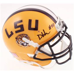 Devin White Signed LSU Tigers Mini-Helmet (Beckett COA)