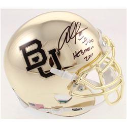 "Robert Griffin III Signed Baylor Bears Chrome Mini-Helmet Inscribed ""Heisman 2011"" (TriStar Hologram"