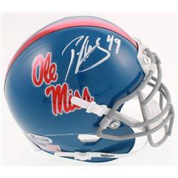 Patrick Willis Signed Ole Miss Rebels Mini-Helmet (Beckett COA)
