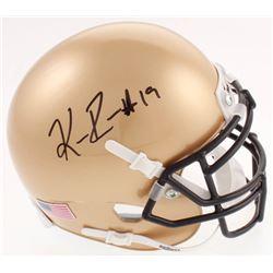 Keenan Reynolds Signed Navy Midshipmen Mini-Helmet (JSA COA)