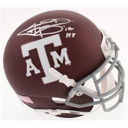 "Johnny Manziel Signed Texas AM Aggies Mini-Helmet Inscribed ""'12 HT"" (JSA COA)"