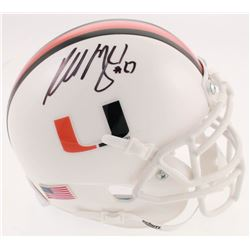 Russell Maryland Signed Miami Hurricanes Mini-Helmet (JSA COA)
