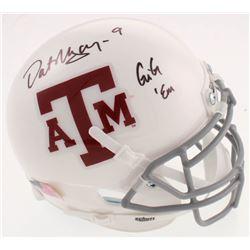 "Dat Nguyen Signed Texas AM Aggies Mini-Helmet Inscribed ""Gig 'Em"" (Jersey Source COA)"