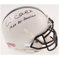 """Andre Collins Signed Penn State Nittany Lions Mini-Helmet Inscribed """"1989 All-American"""" (JSA COA)"""