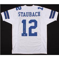 Roger Staubach Signed Jersey (Beckett COA)