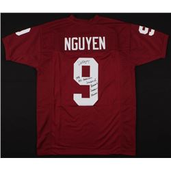 Dat Nguyen Signed Jersey with (4) Career Stat Inscriptions (Jersey Source COA)