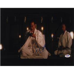 """Sonny Chiba Signed """"Kill Bill: Volume 1"""" 11x14 Photo (PSA COA)"""