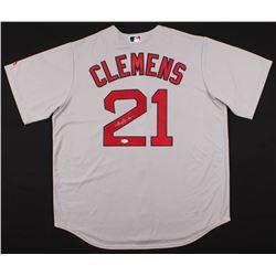 Roger Clemens Signed Boston Red Sox Jersey (JSA COA)