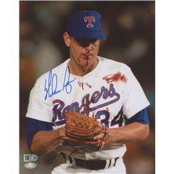 Nolan Ryan Signed Texas Rangers 8x10 Photo (AI Verified Hologram  Ryan Hologram)