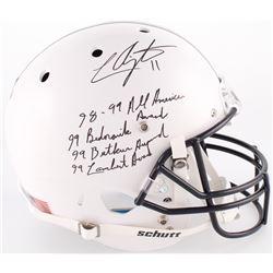 LaVar Arrington Signed Penn State Nittany Lions Full-Size Helmet with Multiple Inscriptions (JSA COA