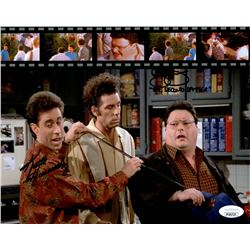 """Keith Hernandez  Roger McDowell Signed """"Seinfeld"""" 8x10 Photo Inscribed """"The Second Spitter"""" (JSA COA"""