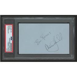 "Mark Hamill Signed 3x5 Index Card Inscribed ""Best Regards"" (PSA Encapsulated)"